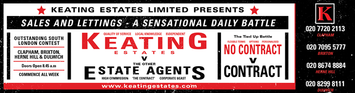Keating Estates, Estate Agents. Clapham | Brixton | Herne Hill | Dulwich