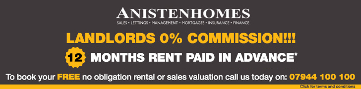 Sales & Lettings | Anisten Homes