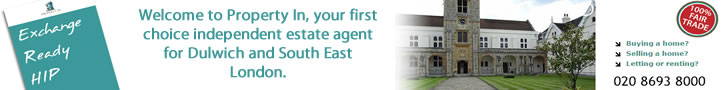 Property In Estate Agent for Dulwich and South East London