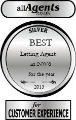 2013 Best Letting Agent in NW6