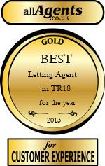 2013 Best Letting Agent in TR18