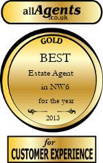 2013 Best Estate Agent in NW6