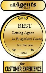 2013 Best Letting Agent in Englefield Green