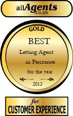 2013 Best Letting Agent in Penzance
