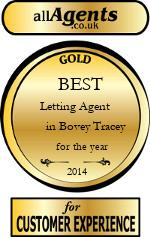 2014 Best Letting Agent in Bovey Tracey