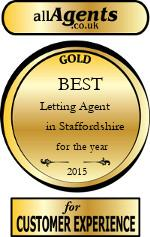 2015 Best Letting Agent in Staffordshire