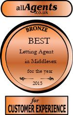 2015 Best Letting Agent in Middlesex