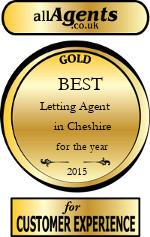 2015 Best Letting Agent in Cheshire