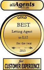 2015 Best Letting Agent in L12