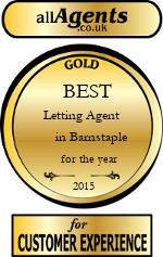 2015 Best Letting Agent in Barnstaple