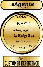 2015 Best Letting Agent in Hedge End