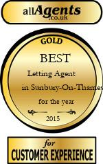 2015 Best Letting Agent in Sunbury-On-Thames