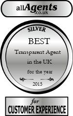 2015 Best Transparent Agent in the UK (Sales)